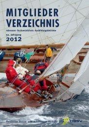 mitglieder verzeichnis - Deutscher Boots- und Schiffbauer-Verband