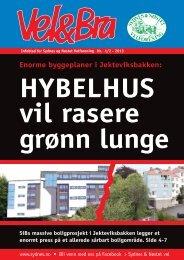 HYBELHUS vil rasere grønn lunge