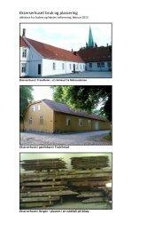 Ekserserhuset bruk og plassering