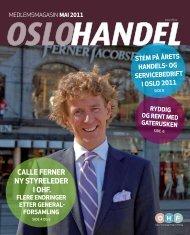 CaLLE FErnEr ny styrELEdEr i ohF. - Oslo Handelsstands Forening