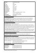 Sikkerhets datablad for valsete blyplater - Page 3