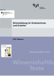 Stimmbildung für Erzieherinnen und Erzieher - Deutsches ...