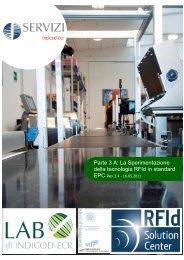 Parte 3 A La Sperimentazione della tecnologia RFId in standard EPC
