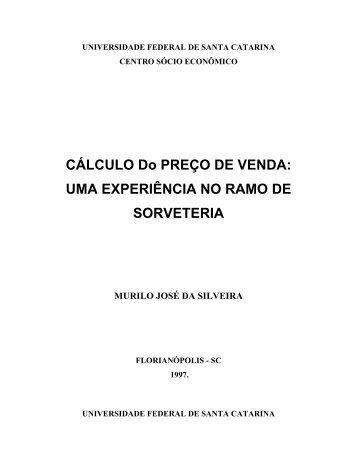 universidade federal de santa catarina - Prof. Flávio da Cruz - UFSC