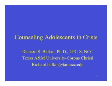 adolescents and counseling Request pdf on researchgate | on apr 1, 2002, madeleine sigman-grant and others published strategies for counseling adolescents.