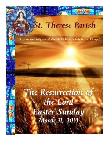 The Resurrection of the Lord Easter Sunday