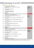Unfallmedizinische Tagung in Berlin 16. und 17. Juni 2011 - Seite 5