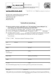 per Fax: 0 89 / 51 60 - 44 03 Verbindliche Anmeldung