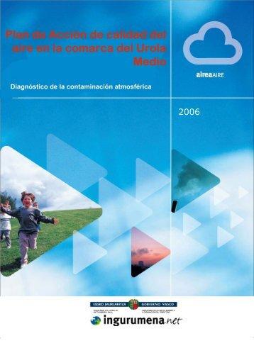 Plan de Acción de calidad del aire en la comarca del Urola Medio
