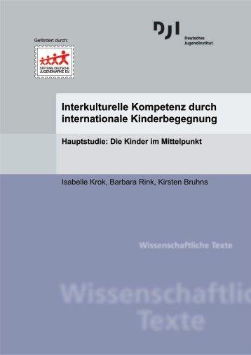 Interkulturelle Kompetenz durch internationale Kinderbegegnung