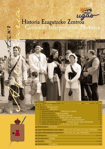Historia Ezagutzeko Zentroa Centro de Interpretación Histórica