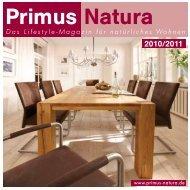 Das Lifestyle-Magazin für natürliches Wohnen - Primus Natura