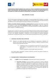 Aclaraciones y subsanación de errores III - IIS La Fe
