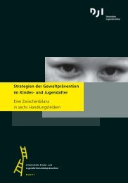 Strategien der Gewaltprävention im Kindes- und Jugendalter - DJI