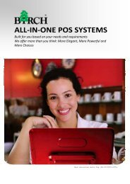 ALL‐IN‐ONE POS SYSTEMS