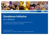 Excellence Initiative - DFG