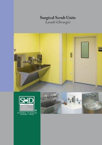 Surgical Scrub Units