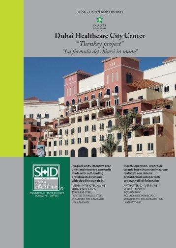 "Dubai Healthcare City Center ""Turnkey project"""