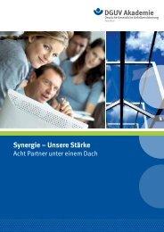 Synergie – Unsere Stärke - Deutsche Gesetzliche Unfallversicherung