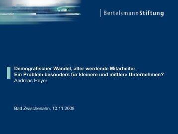 Demografischer Wandel - Deutsche Gesetzliche Unfallversicherung