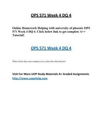 Homework 4 help