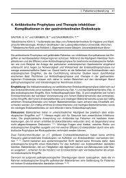 4. Antibiotische Prophylaxe und Therapie infektiöser ... - DGVS