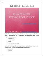 BUS 475 Week 1 Knowledge Check UOP Material.pdf