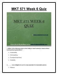 MKT 571 Week 6 Quiz  UOP Material.pdf