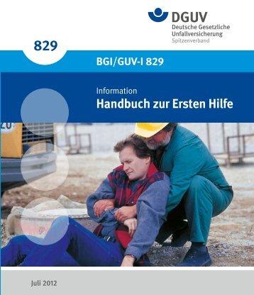 1 Richtiges Verhalten bei Unfällen und Notfällen - Deutsche ...
