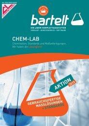 Chem-Lab – gebrauchsfertige Maßlösungen & Standards
