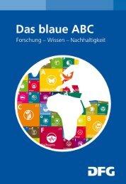Das blaue ABC. Forschung - Wissen - Nachhaltigkeit - DFG