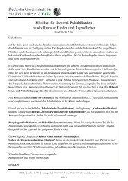 18181 - Deutsche Gesellschaft für Muskelkranke (DGM)