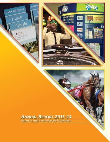 ANNUAL REPORT 2013 -14