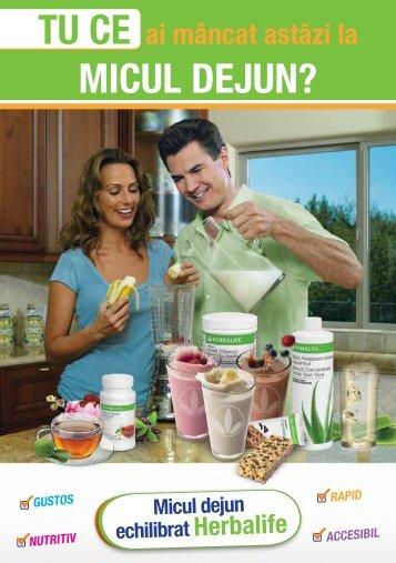 Tu ce ai mancat azi la Micul Dejun ?