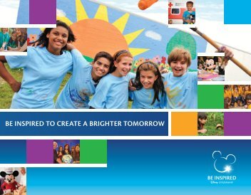 Be inspired to create a bRIGHTer tomorrow