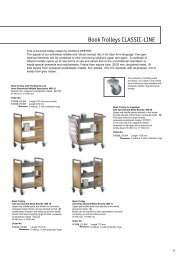 Book Trolleys CLASSIC-LINE