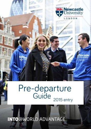 Pre-departure
