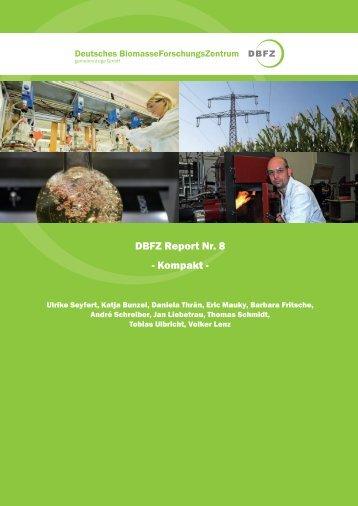 DBFZ Report Nr. 8 -  Deutsches Biomasseforschungszentrum