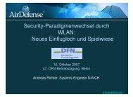 Security-Paradigmenwechsel durch WLAN: Neues Einflugloch und ...