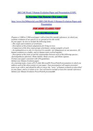 Bio evolution paper - need help !!!?