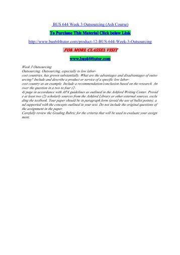Beck manufacturing essay