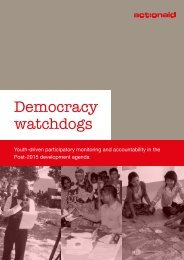 Democracy watchdogs