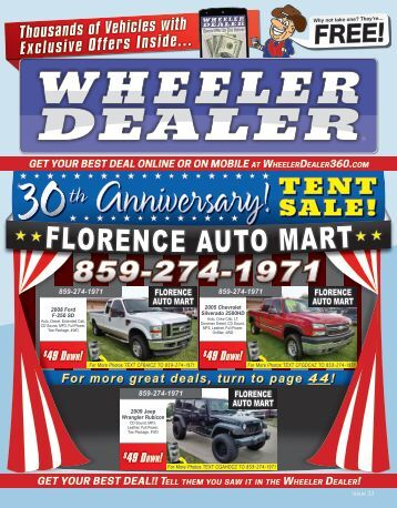 Wheeler Dealer 33-2015