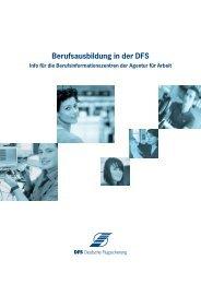 Broschüre für Berufsberater - Deutsche Flugsicherung GmbH