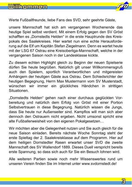 """Der Traktorist"" - 1. Hauptrunde Saalekreispokal - SV Dornstedt vs. LSG Ostrau"