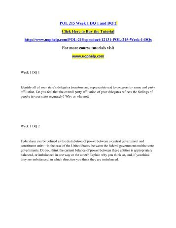 pol 215 week 2 View essay - pol215-week two-constitution and systems of the state from pol / 215 at university of phoenix running head:  image of page 2 image of.