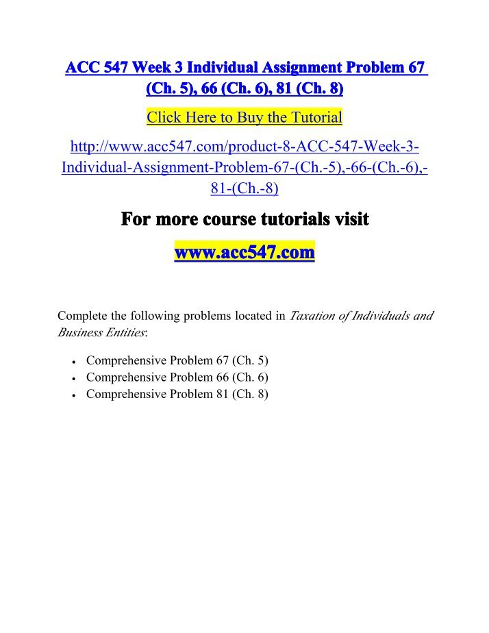 week two problem set acc 547 Qrb 501 entire course ( week 1-6 ) a graded  qrb 501 week 1 quiz (new) qrb 501 week 2 learning team case studies (5-2 and 6-2) (new) qrb 501 week 2 quiz (new.