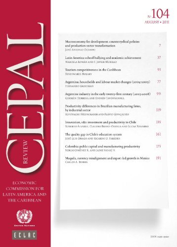 CEPAL Review Nº104