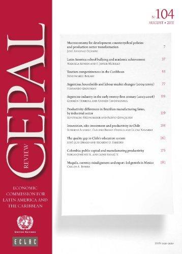 CEPAL Review Nº104