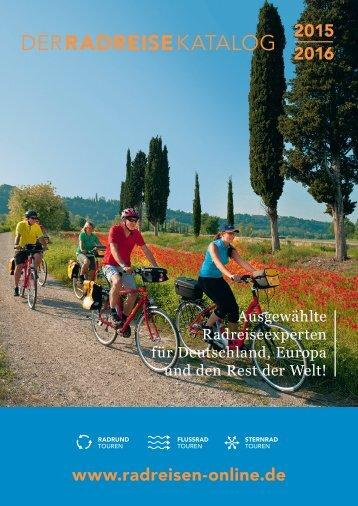 Radreisen Online Katalog 2015-2016
